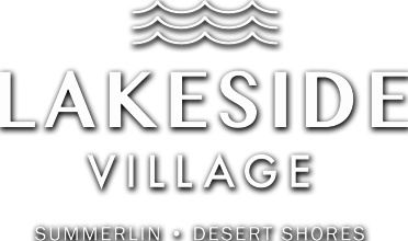 Lakeside Village square logo